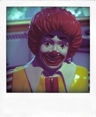Ronald mcdonald vw-busman