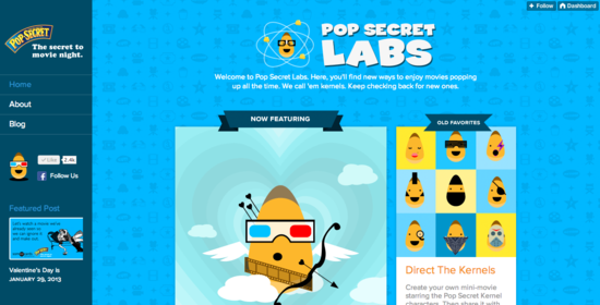 POP SECRET LABS is open